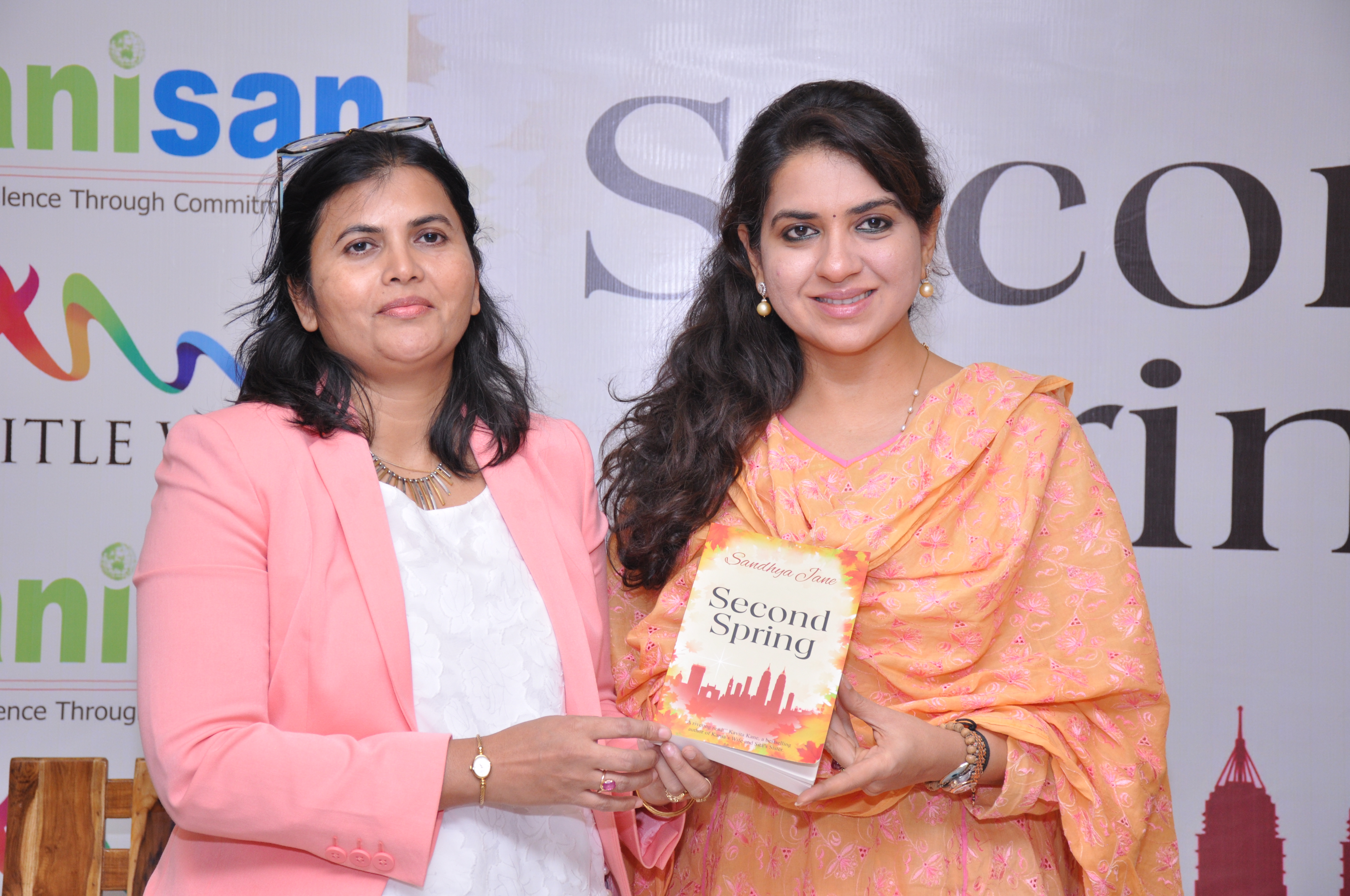 Author Sandhay Jane and Shaina NC