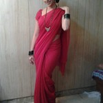 Deepali Pansare In Hot Red Dress