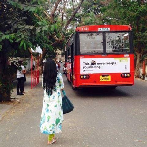 bus stop marathi movie