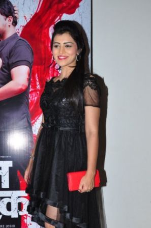 Sneha Chavan at Launch of the film 'Lal Ishq'