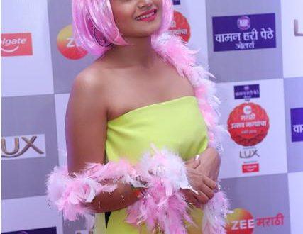Shanaya at Zee Marathi Awards Nomination Party