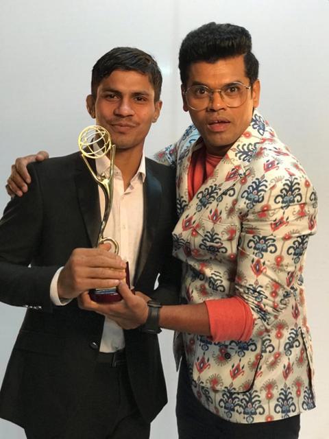 Siddharth Jadhav & Santosh Garje