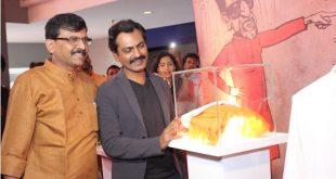 Nawazuddin Siddiqui and Sanjay Raut
