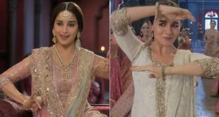 Madhuri Dixit and Alia Bhatt add visual charm to the latest track of Kalank