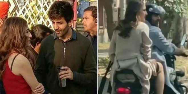 Sara Ali Khan trolled for refraining to wear helmet during bike ride with actor Kartik Aaryan