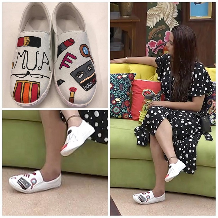 Shivani Surve shoes