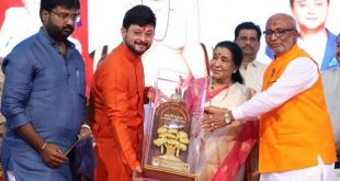 Swapnil Joshi And Asha Bhosle