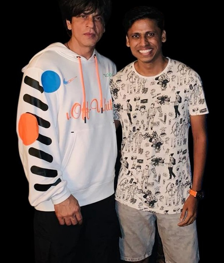 Prithvik with SRK
