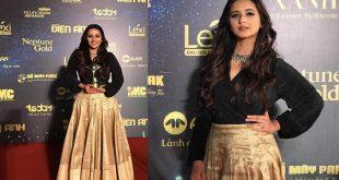 Shivani Surve at Vietnam Awards red carpet 2019