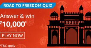 Amazon Road To Freedom Quiz